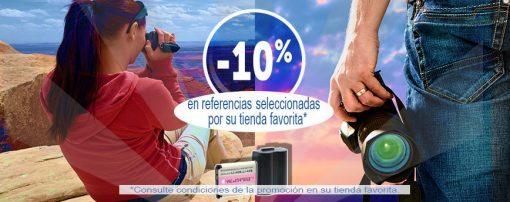 -10% de descuento en referencias seleccionadas por su tienda favorita